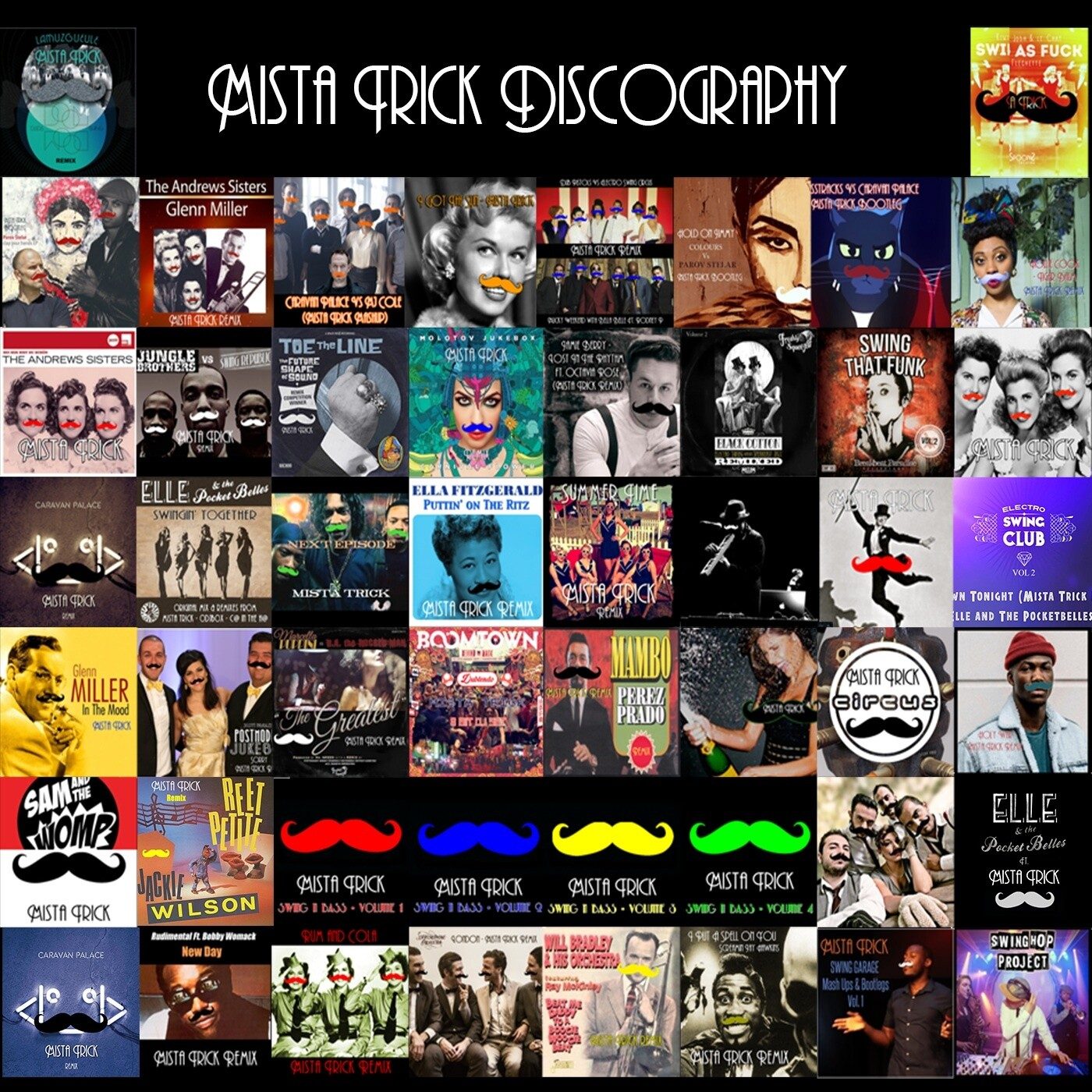 Mista Trick Discography