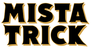 Mista Trick Logo Gold Black Inside RGB